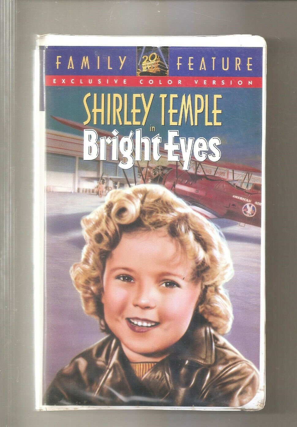 Bright Eyes (VHS, 1994, Colorized Clamshell)