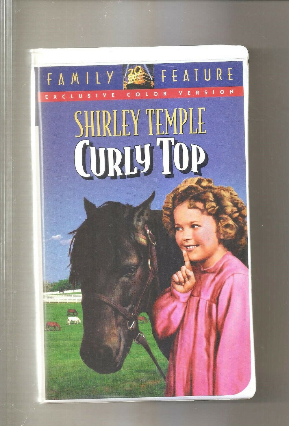 Curly Top (VHS, 1994)