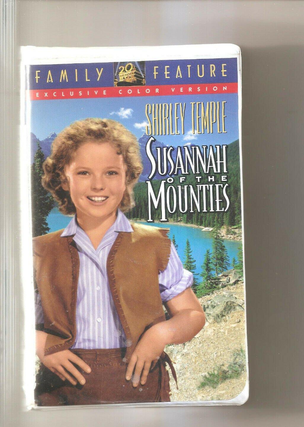 Susannah of the Mounties (VHS, 1994)