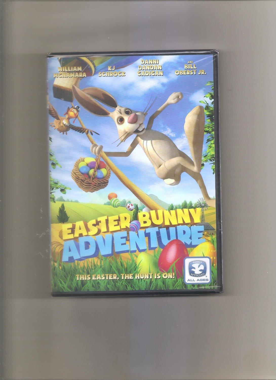 Easter Bunny Adventure (DVD, 2017)