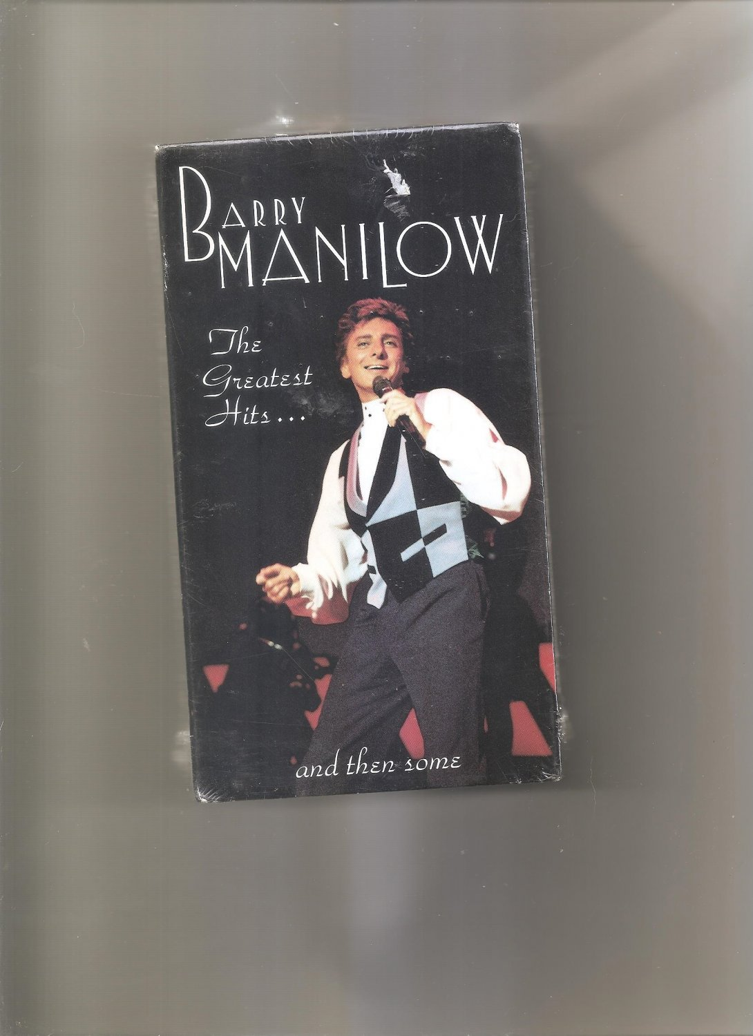Barry Manilow Greatest Hits Tour VHS