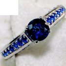 Blue Sapphire Ring Size 8