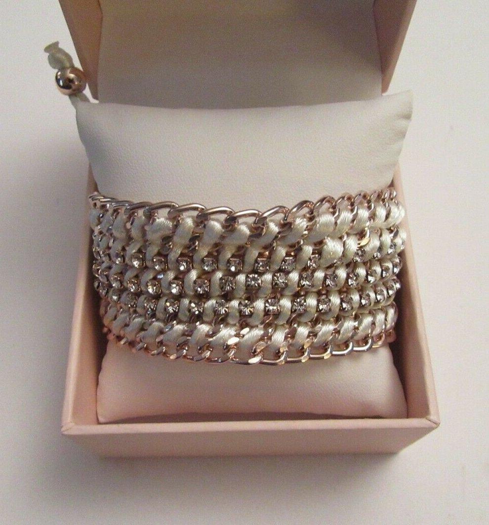 Sparkle & Bling Adjustable Bracelet With Gift Box