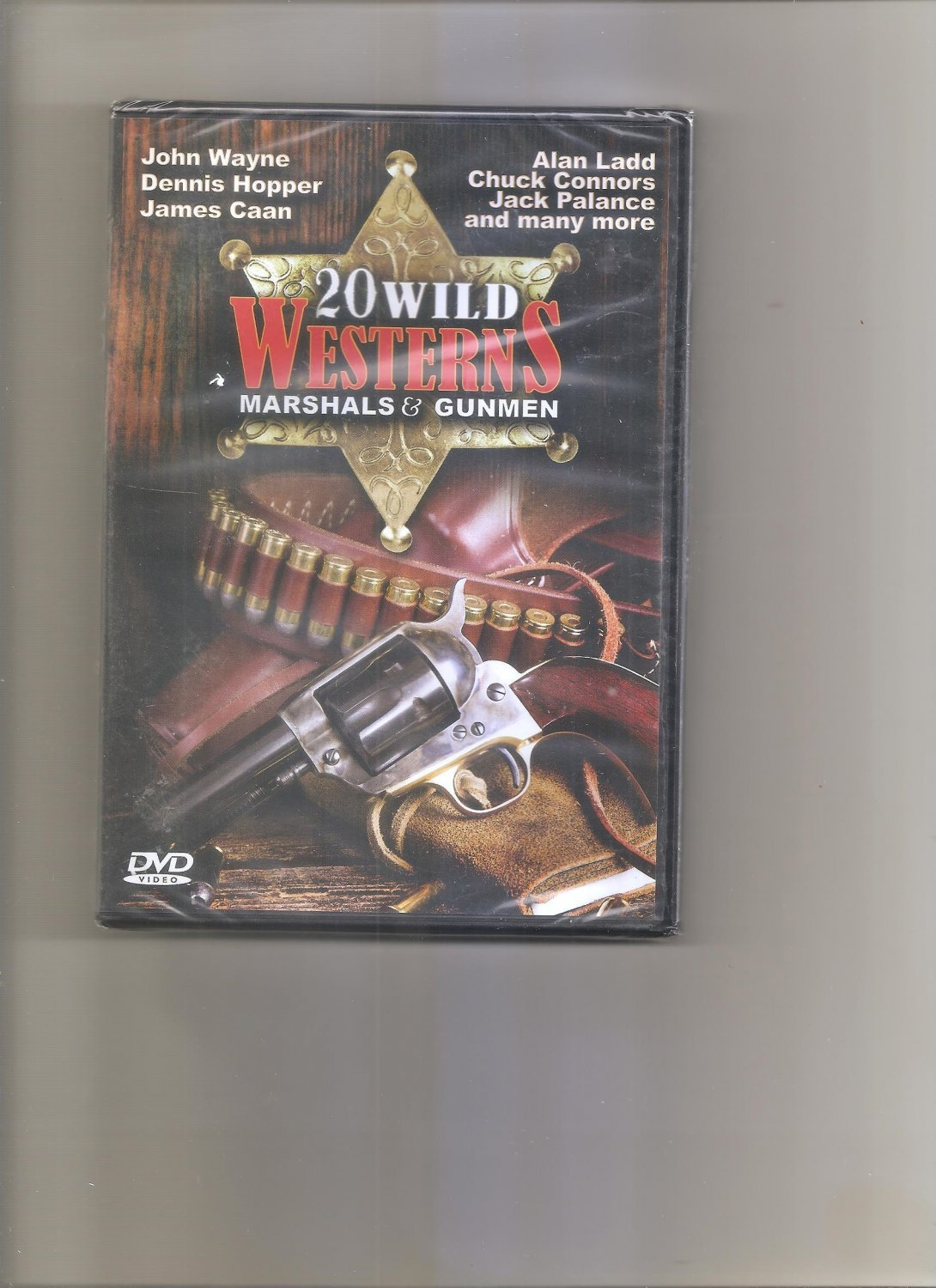 20 Wild Western Movies DVD Marshal & Gunmen