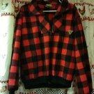 Union Bay Red & Black Winter Shirt Size Medium