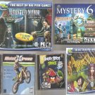 5 Piece PC Game Lot New & Sealed Free Shipping