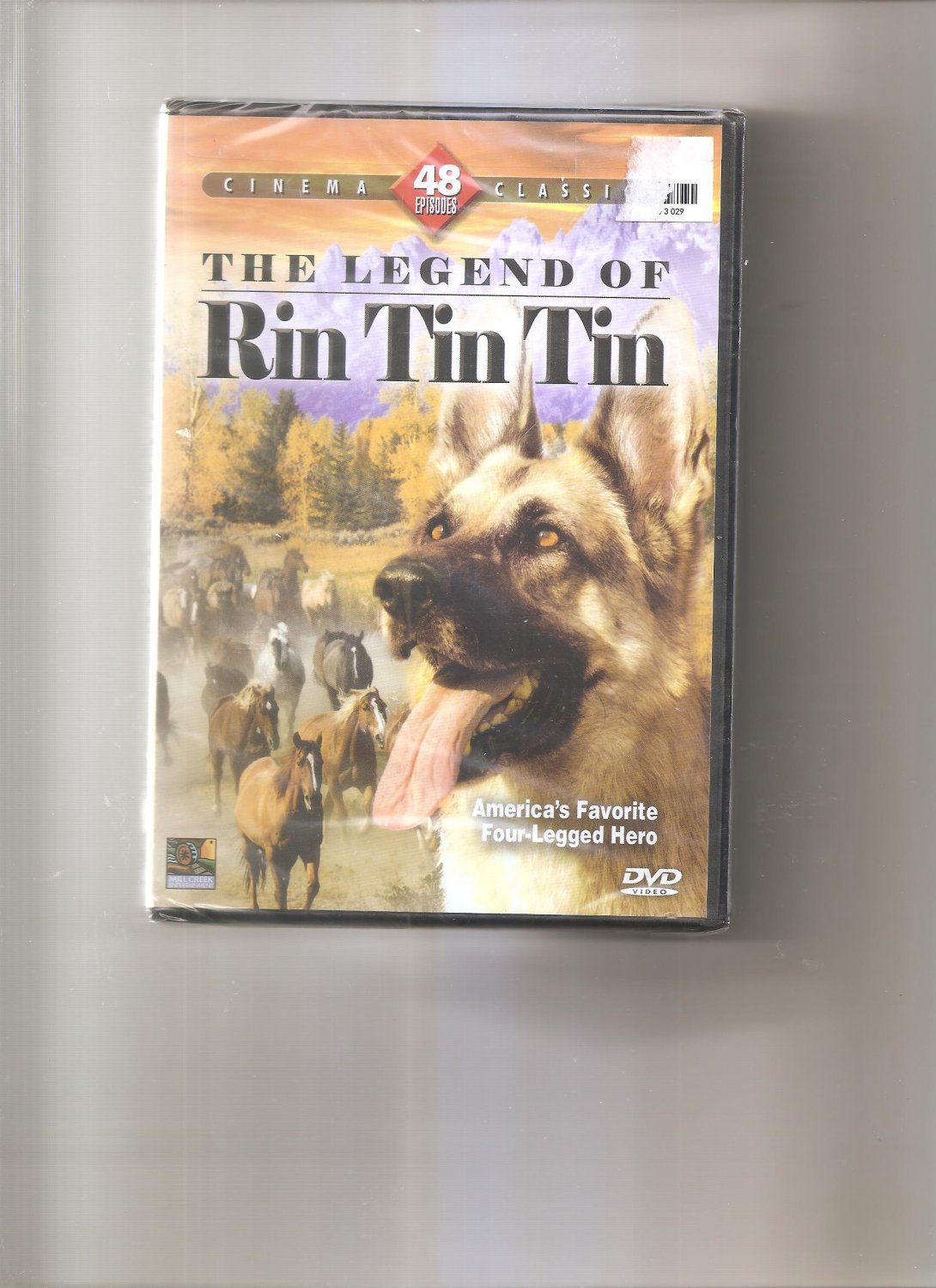 The Legend of Rin Tin Tin - 48 Episodes (DVD, 2008)