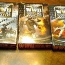 3 Dvd Box Sets WWII Combat Zone 1939-42 , 1942-44 , 1944-45