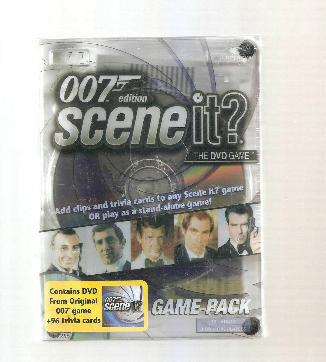Mattel 007 Edition, Scene It? Game Pack Age 13 to Adult