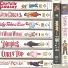 11  Shirley Temple VHS Movie Collection