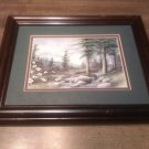 Burton Dye Woodland Cascades signed & numbered Framed