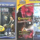 2 Game Lot New & Sealed Big Fish Haunted Manor & Cryptic Encounters 4-Pack
