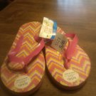 Ladies Tropic Sun Multi Color Flip Flops Size 5/6