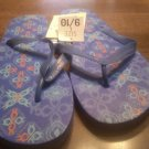 Ladies Blue Flip Flops Size 9/10