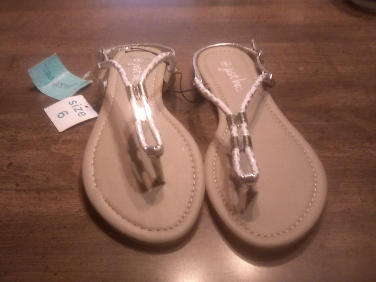 Ladies Just Be Sandals Size 6