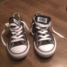Children Converse All-Star Black & White Shoes Size 2