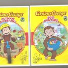 2 Curious George Dvd's Egg Hunting & Outdoor Adventure