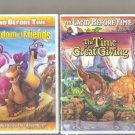 2 Land Before Times Dvd 's New And Sealed