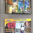 2 PC Game Lot Cryptic Encounters 4-Pack & Treasures of Mystery Island 3 Pack