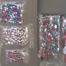 Jewelry Making Beads , Brooch Bar Pins , Glass Beads, Heart Charms etc