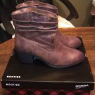 ARIZONA Leather Ankle Boots 8 1/2 The Original Jean co