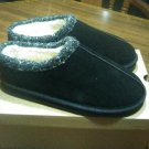 Portland Boot Company Women's Suede Slippers Black Sunday Clog Self Care Size 9