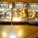 3 Dvd Box Sets WWII Combat Zone 1939-42 , 1942-44 , 1944-45