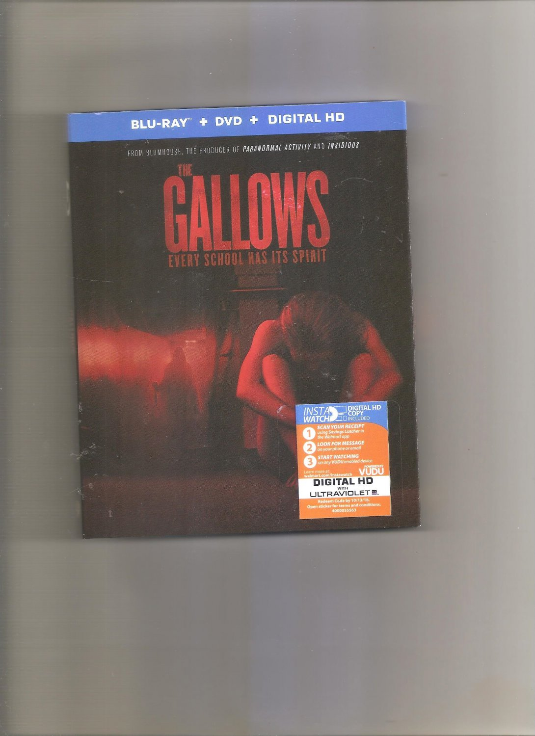 The Gallows Every School Has It's Spirit Blu-Ray Dvd Digital HD