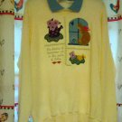 Valorie Sockwell Folk Art Sweat Shirt Size Large The Dreams Of Tomorrow