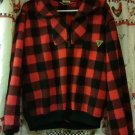 Union Bay Red & Black Winter Shirt Size Medium