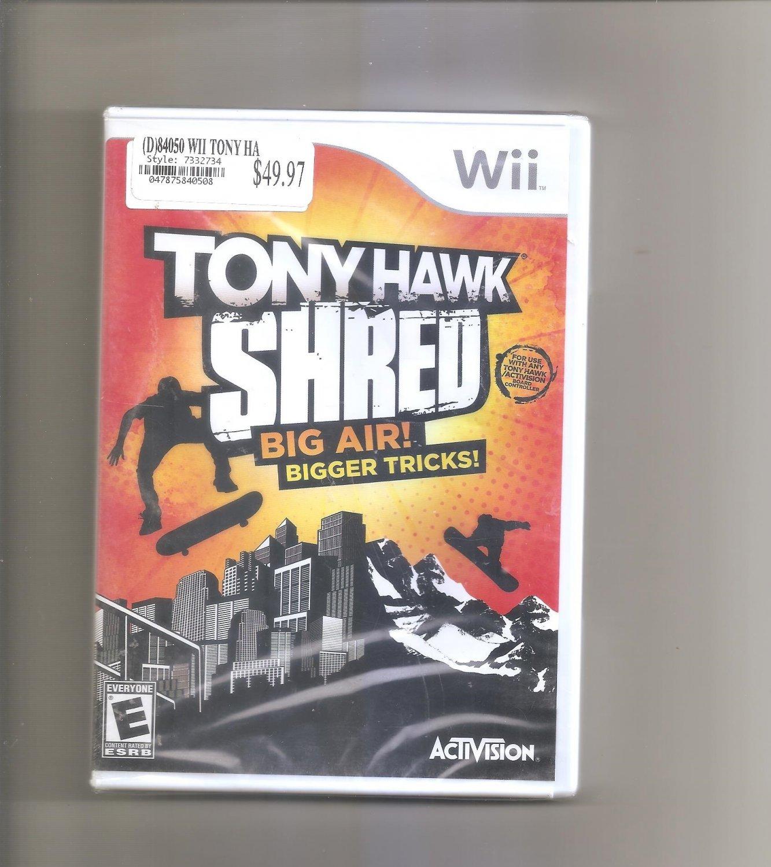 Tony Hawk: Shred (Nintendo Wii, 2010)