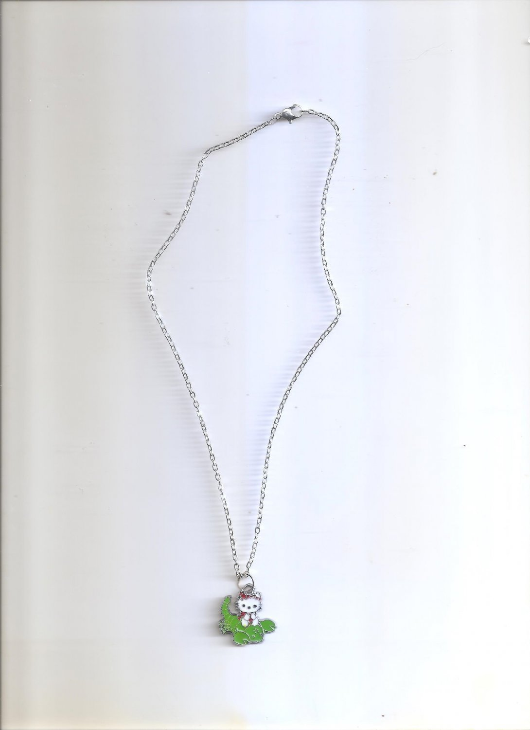 Hello Kitty Red & Green Necklace