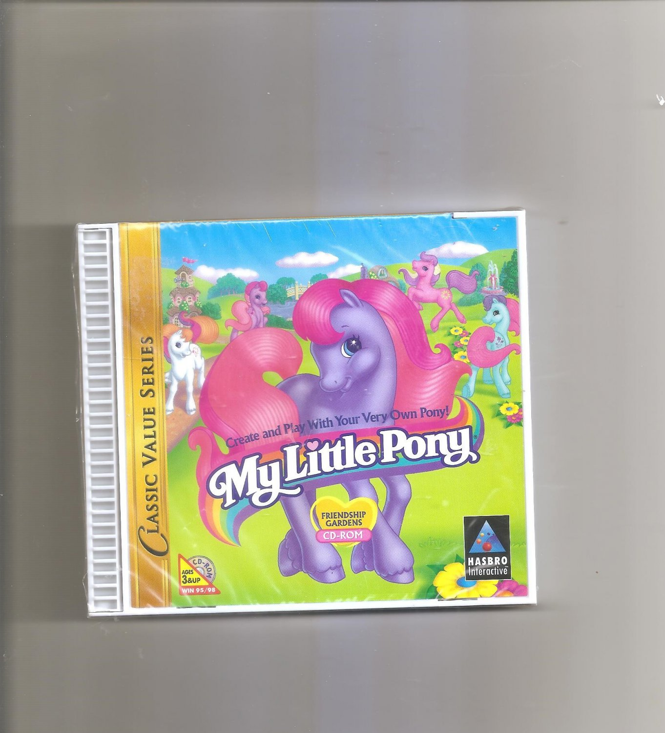 My Little Pony: Friendship Gardens CD-ROM Classic Value Series (PC, 1998)
