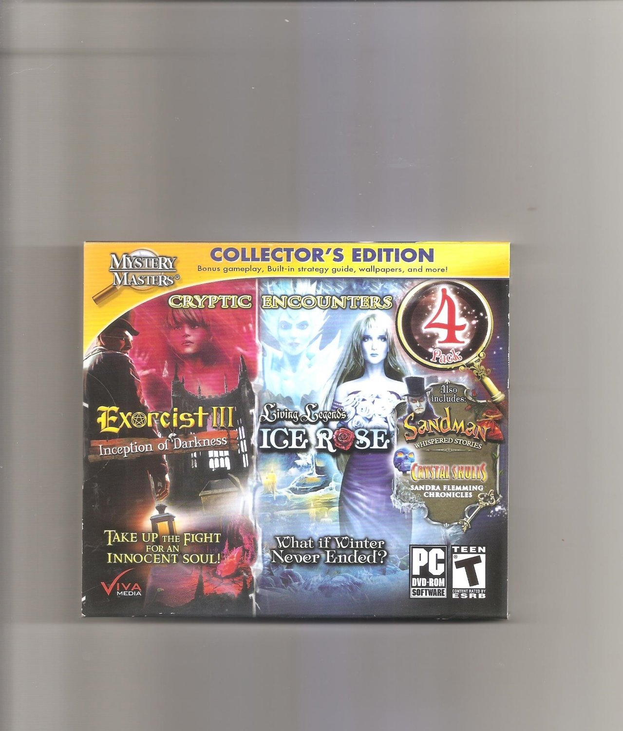 Cryptic Encounters 4-Pack Collector's Edition JC (PC Windows)