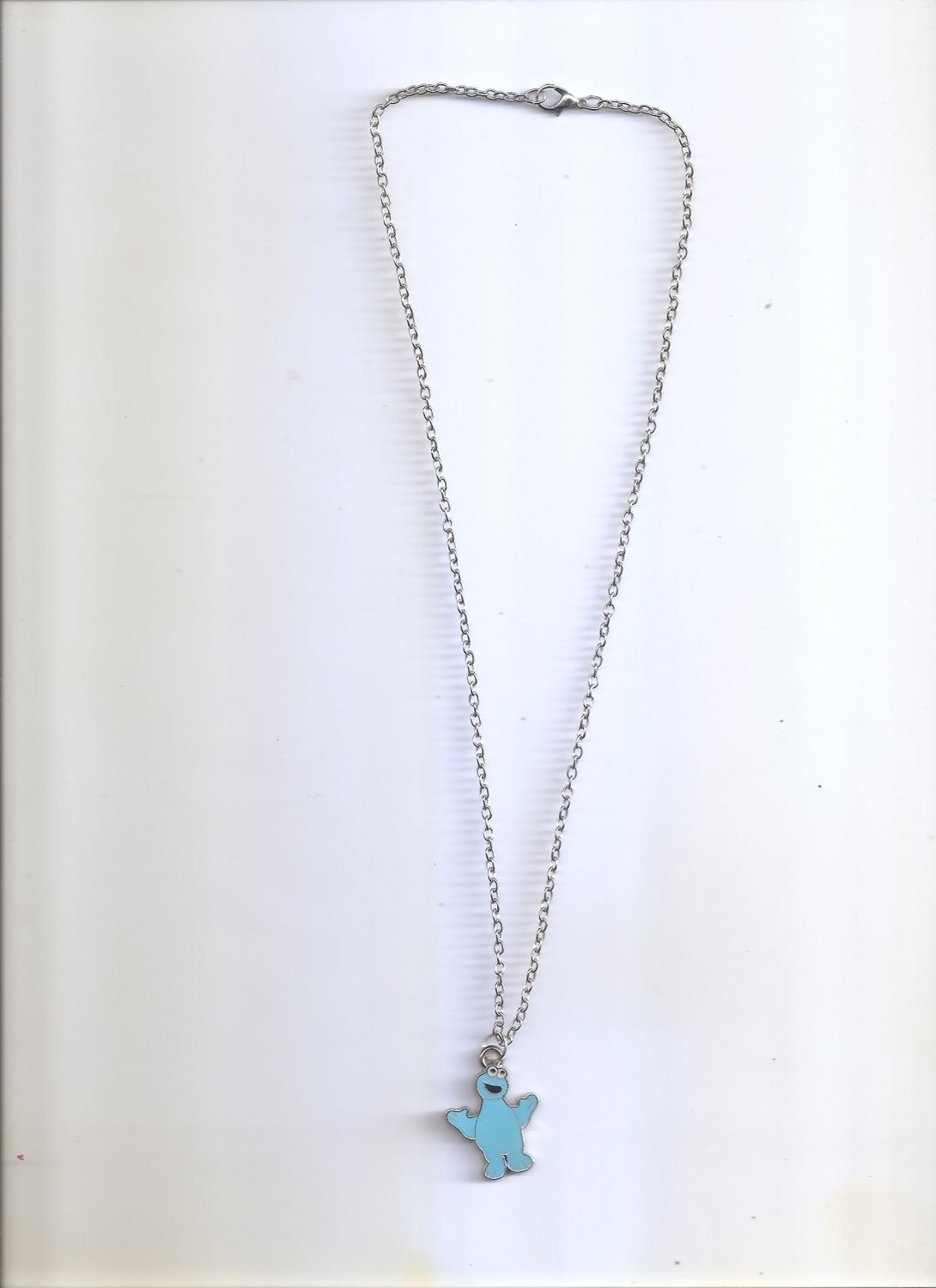 Cookie Monster Blue Necklace