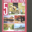 5 Deluxe Puzzle Pack 2500 Total Pieces
