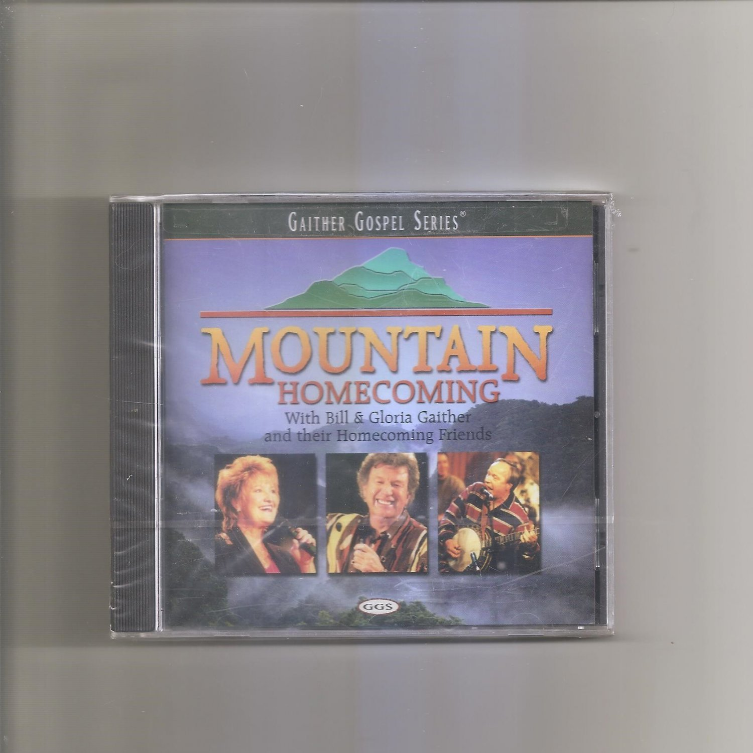 Mountain Homecoming  Bill & Gloria Gaither & Friends CD