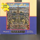 Dowdle Jigsaw Puzzle Paris 500 Piece New & Sealed