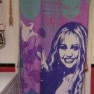 Hannah Montana Purple Pink & Blue Throw Blanket 60in Long  46 in Wide