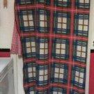 Red , Blue/ Green Winter Blanket 72in Long 52in Wide