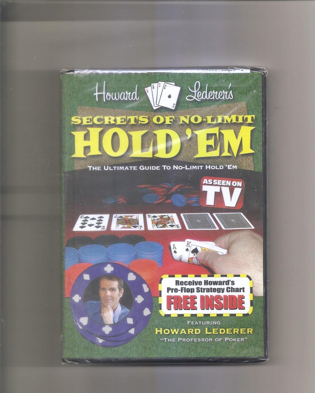 Trademark Poker Howard Lederer's Secrets of No Limit Hold'em