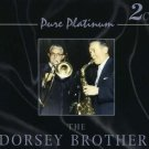 THE DORSEY BROTHERS TWO COMPACT DISCS PURE PLATINUM