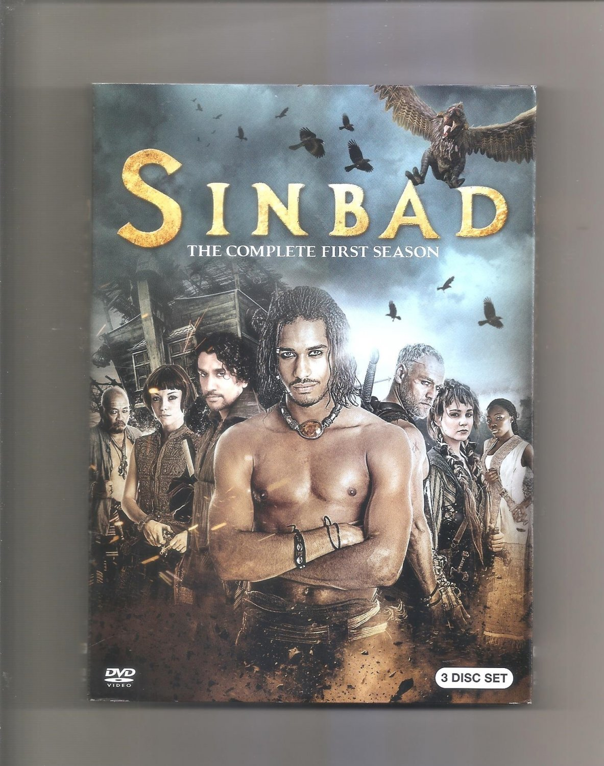 Sinbad: The Complete First Series (DVD, 2013, 3-Disc Set)