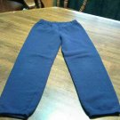 Hanes Sweat Pants Size 4/5 Blue