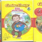 3 Curious George Dvd Lot New & Sealed