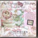 Vintage Cherubs & Roses Collection 3D 1000 Pieces puzzle Ages 12 +