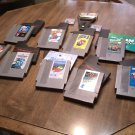 Nintendo Game Lot Super Mario 2 Super Mario 3 Paper Boy Excite Bike etc