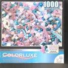 Colorluxe Candy Explosion  1000 Piece Puzzle Unique Shaped Pieces