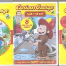 3 New & Sealed Curious George Dvd Movie Lot