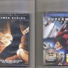 Superman Return   Batman Begins  2 New & Sealed DVD Lot
